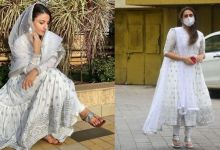 Photo of Eid-Ul-Fitra: Huma Qureshi and Soha Ali Khan's beautiful Anarkali dress by Carrie, the price is so