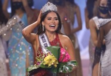 Photo of Miss Universe: Know who is Andrea Meja, whose head is decorated, crown of Miss Universe, see photos