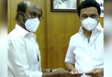 Photo of Rajinikanth extended his hand to help Kovid victims, given this amount to MK Stalin