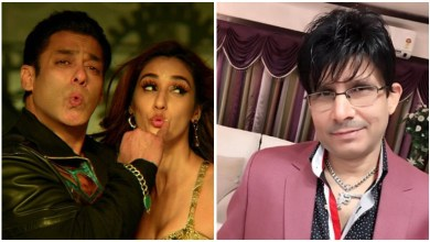 Photo of Congratulating Disha Patani on her birthday, KRK again messed up with Salman Khan, said – does not look good with old actors