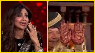 """Photo of Contestant's father took such a step for Shilpa Shetty, seeing that the actress said to her husband Raj Kundra, """"Learn something from them""""."""