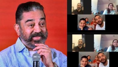 Photo of Kamal Haasan made a video call to his fan battling brain cancer, see how was the reaction of the family