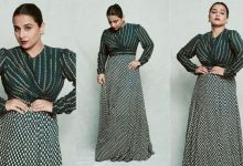 Photo of You will love this green anarkali dress by Vidya Balan, but definitely know the price