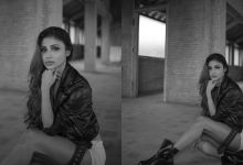 Photo of Mouni Roy showed bold look in black and white photos, fans held their hearts