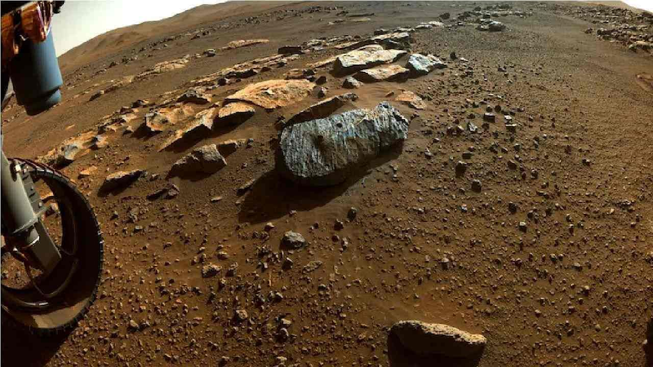 NASA's Perseverance Rover got a big success!  Samples collected on Mars may contain water