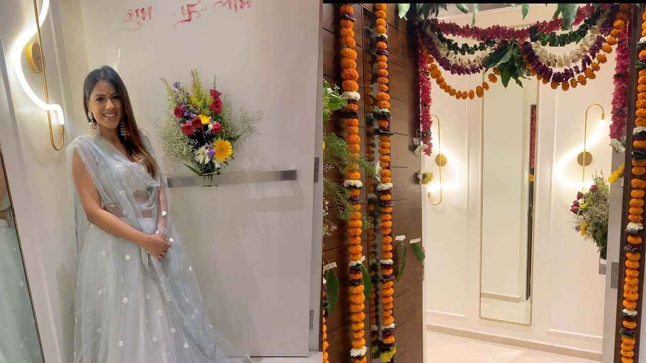 New House: Nia Sharma made fans visit 'Nia Niwas', shared photos of her house entry