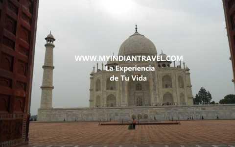 """""""Templo Taj Mahal en Agra"""""""