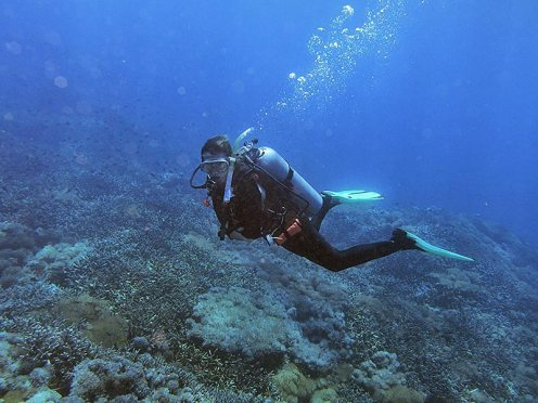 Finally some fun diving at Nusa Lembongan :)