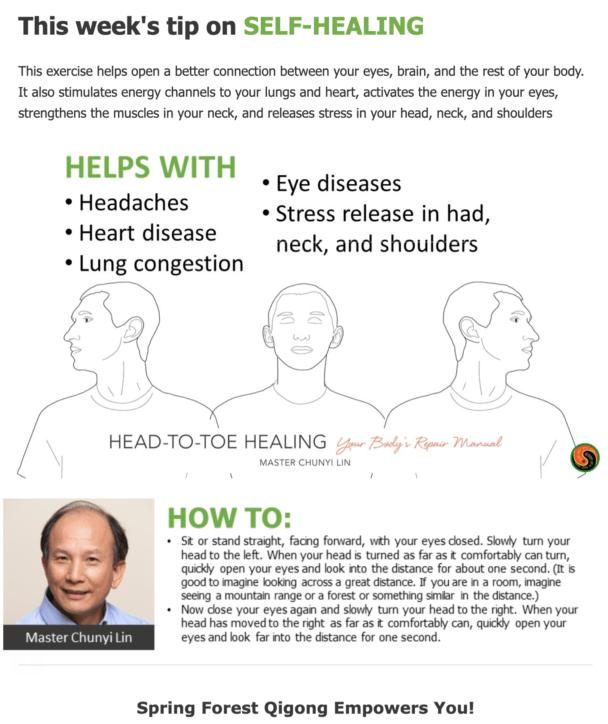 Head, Neck Stress Relief