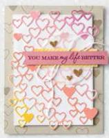 January - June 2020 Stampin' Up! Mini Catalog Cased Card