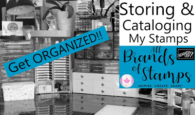 How to store and catalog stamps - My Inkie Fingers