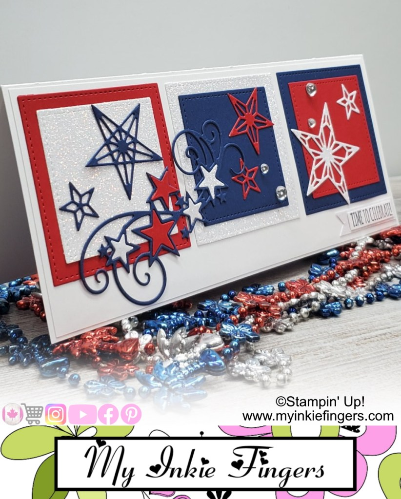 4th of July Card, Independence Day Card, Celebration Card, 4th of July 2020 Card