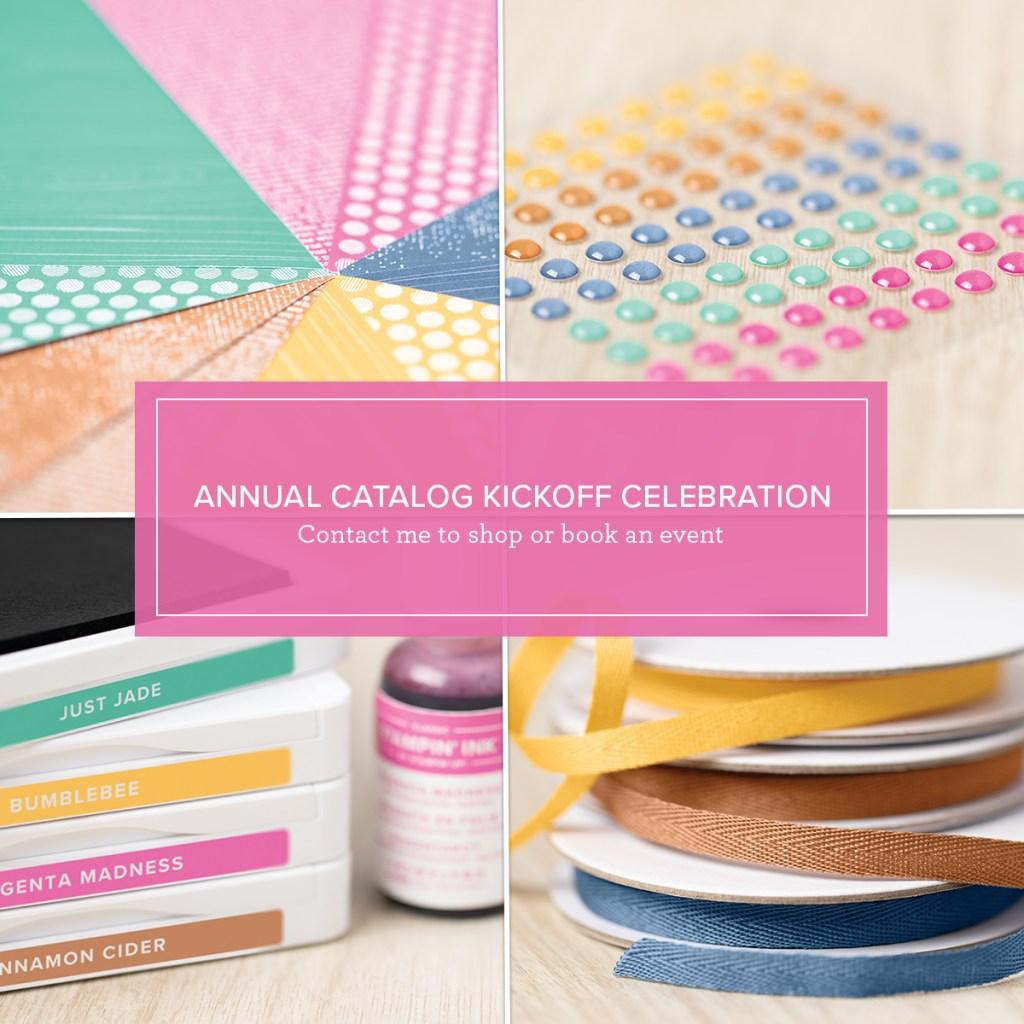 2020–2021 Stampin' Up! Annual Catalog KICKOFF