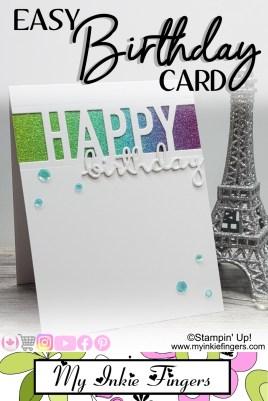 EASY DIY Birthday Card