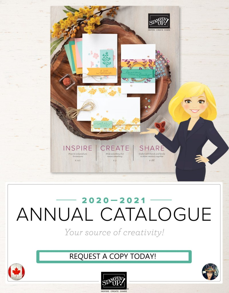 Forever Greenery Suite in the new 2020 - 2021 Stampin' Up! Annual Catalog