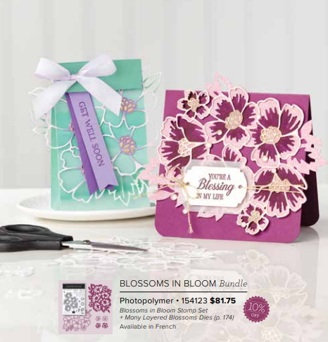 Blossoms in Bloom Bundle Stampin' Up!