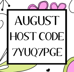 August 2020 Stampin Up Host Code