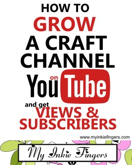 How to GROW a CRAFT CHANNEL on YouTube