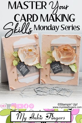 How to assemble Peony Flower Dies Stampin Up Tutorial