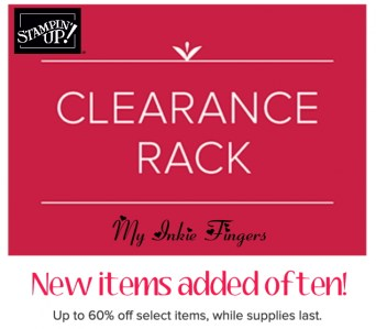 Clearance rack by Stampin' Up! | NEW Clearance Rack Goodies