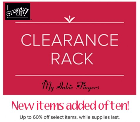 Clearance rack by Stampin' Up!