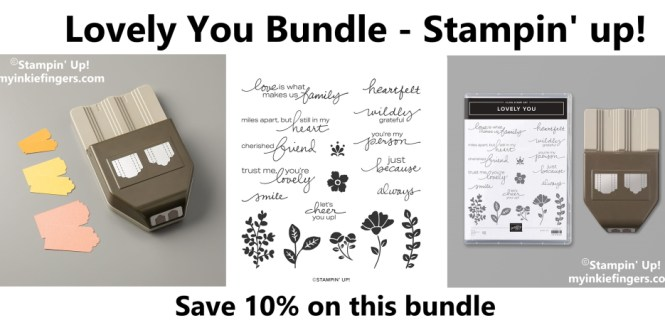 Lovely You Bundle Stampin' Up!