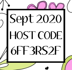 Stampin Up! September 2020 Host Code