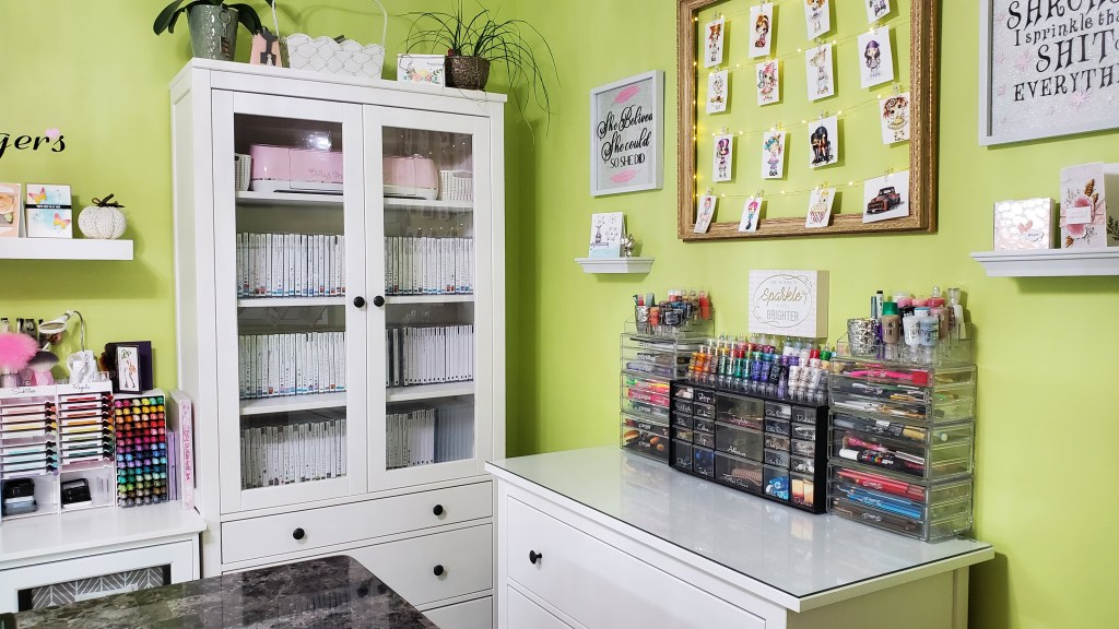Dream Craft Room Tour - Stamp Room Tour - Craft Room Tour 2020