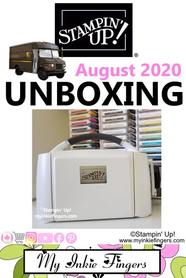 Stampin' Cut & Emboss Unboxing + Goodies Stampin' Up! 2020 Catalog Haul