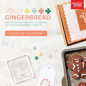 November 2020 Jolly Gingerbread Unboxing