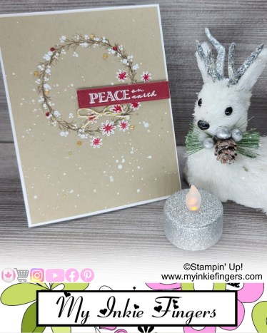My Inkie Fingers Stampin Up Christmas Cards 2020
