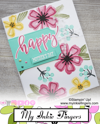 30 Cards in 30 Days - Day 16 - Mothers Cards - My Inkie Fingers