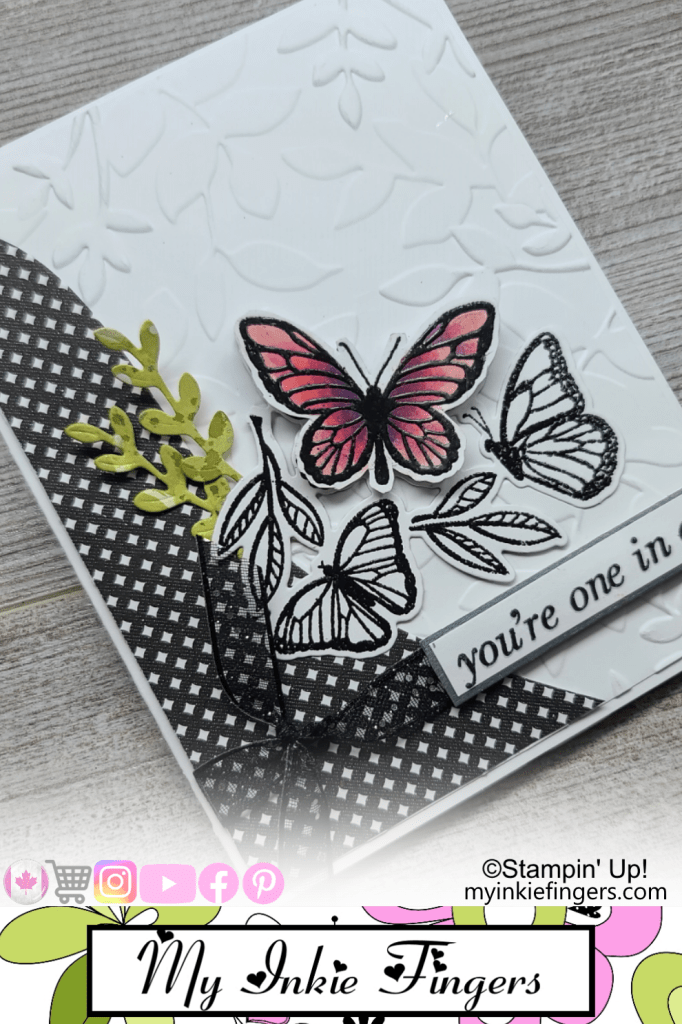 30 Cards in 30 Days Day 9 Butterflies My Inkie Fingers