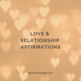 %name I am worthy of love, abundance, success, happiness, ​and fulfillment.
