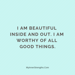 %name I am worthy Affirmations | My Inner Strengths4