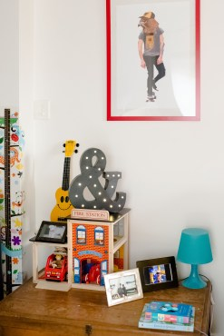 Get skating with this Fanfare print sure to look great in any teenager or kids room or for the young at heart