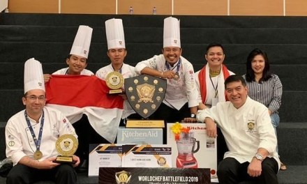 Teamwork pays off to win the Worldchefs Battlefield