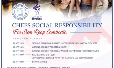 World Chef Without Borders Launch Chefs Social Responsibility for Cambodia