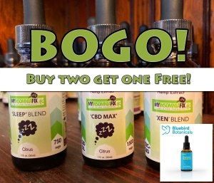 BOGO CBD Oil Promotion!