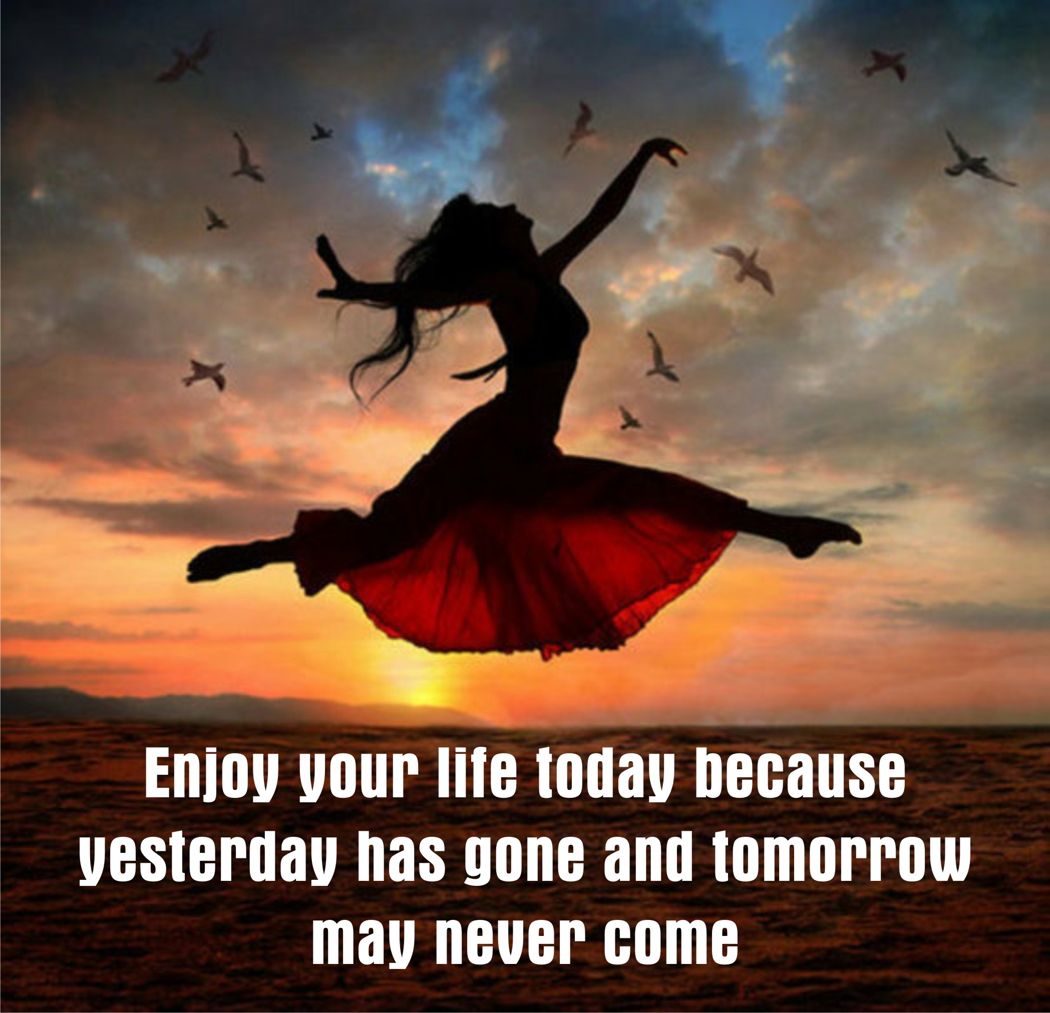 Living In The Moment Take The Time To Enjoy Today