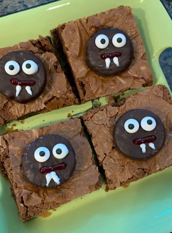 Halloween Treats – Vampire Brownies