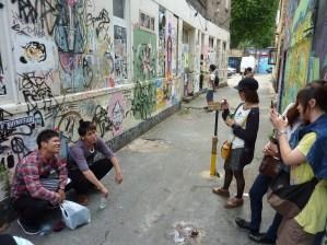 Photos with Street Art
