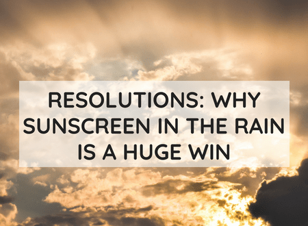 Sunscreen in the Rain | My Instruction Manual