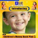 LIC New Children Money Back Plan
