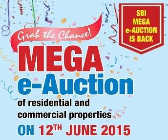 SBI Mega e-Auction of properties