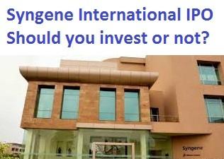 Syngene International Limited IPO