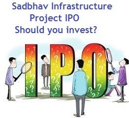 Sadbhav Infrastructure Project IPO