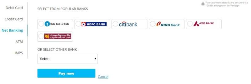 Paytm-Adding money to wallet-2