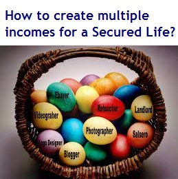 How to create multiple incomes for a Secured Life