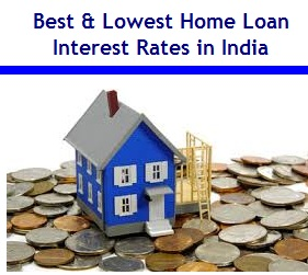 Best Home Loan interest rates in India in 2016